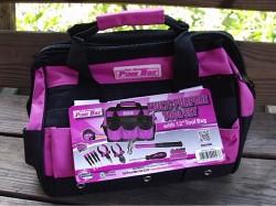 pink tool set