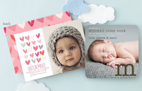 Tiny Prints Birth Announcements and Shower Invitations – Tiny Prints Birth Announcement