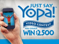 Just Say Yopa Video Contest