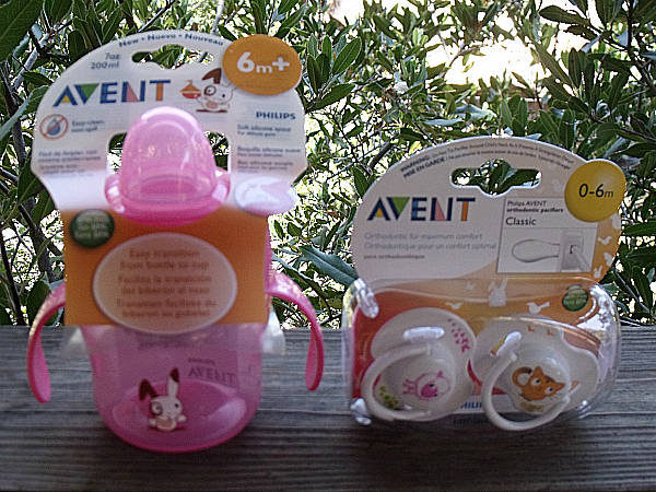 Philips Avent Cup and Pacifiers