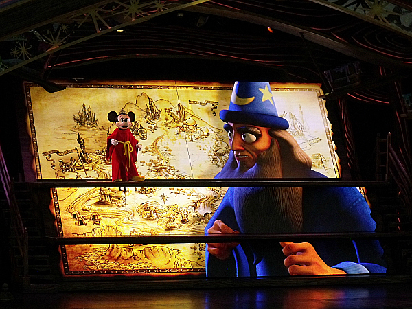Disneyland Mickey's Magical Map Show