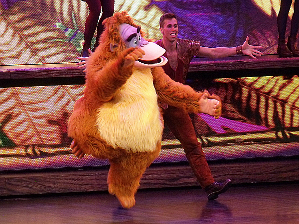King Louie Mickey and the Magical Map Show
