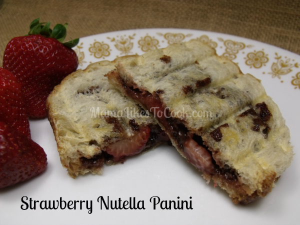 sandwiches, but I also like to play. This Strawberry Nutella Panini ...