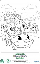 leapfrog printable coloring page