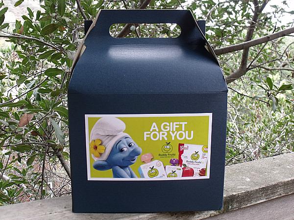 Smurfs 2 Buddy Fruits Gift Box