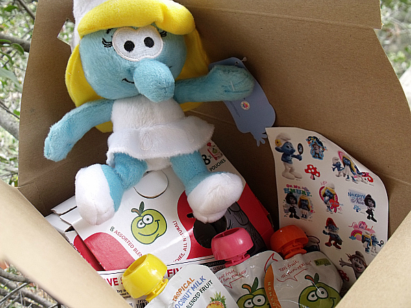 The Smurfs 2 Gift Box from Buddy Fruits