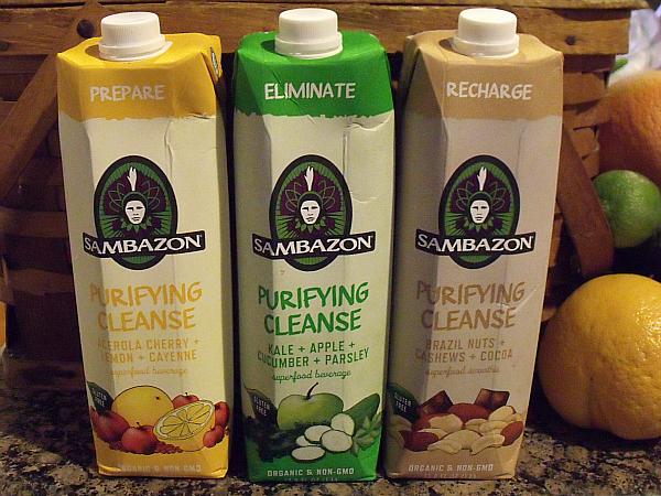 Sambazon 3 day cleanse