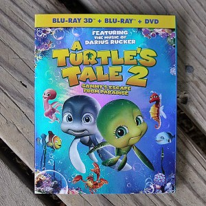 A Turtle's Tale 2: Sammy's Escape from Paradise DVD Blu-ray 3D Combo