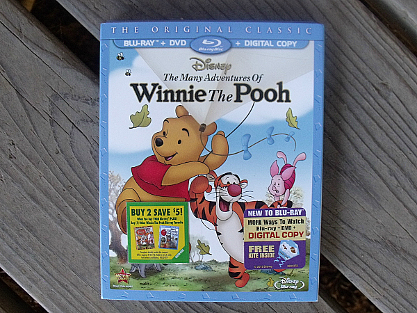 Disney The Many Adventures of Winnie The Pooh Blu-ray DVD Combo