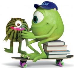 Disney Pixar Watermelon Craft