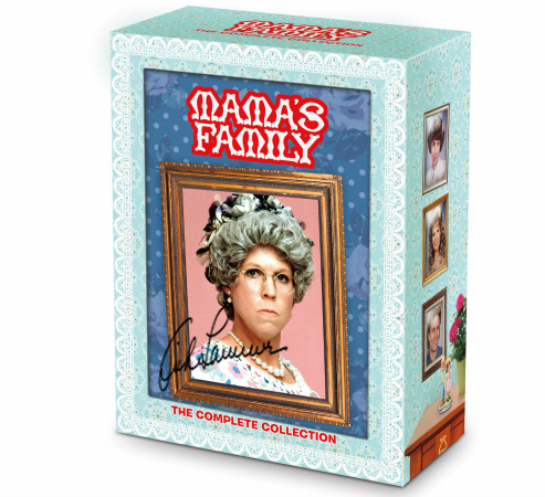 Mama's Family DVD Box Set Autographed by Vicki Lawrence