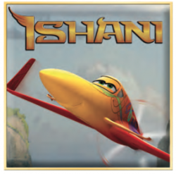 Disney Planes Ishani Printable Paper Airplane Craft