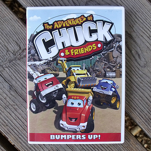 The Adventures of Chuck & Friends Bumpers Up DVD