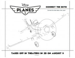 Disney Planes Printable Connect The Dots