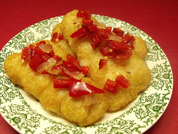 Fish Fillets with Sweet Pepper Relish