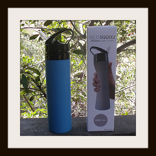 Eco SQUEEZ Silicone Water Bottle