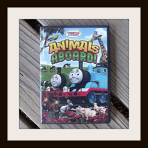 Thomas & Friends Animals Aboard DVD
