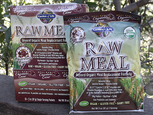 Garden Of Life Chocolate Raw Meal Mama Likes This