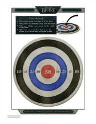 Disney Printable Brave Archery Game