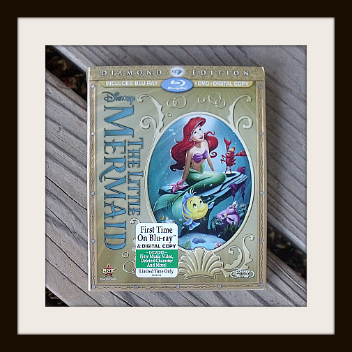 Little Mermaid Diamond Edition Blu-ray + DVD + Digital copy