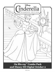Cinderella Printable Coloring Sheet
