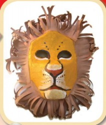Make Your Own Lion King Mask Craft