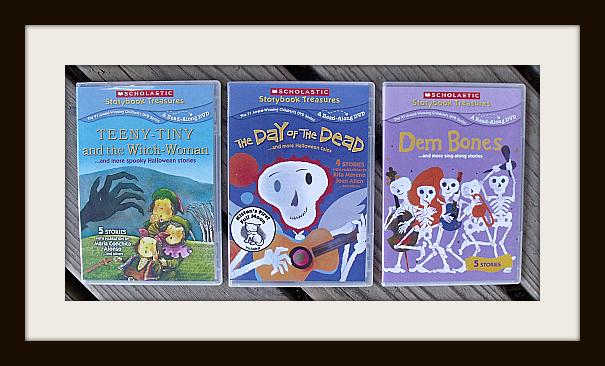 Scholastic Halloween DVD Collection