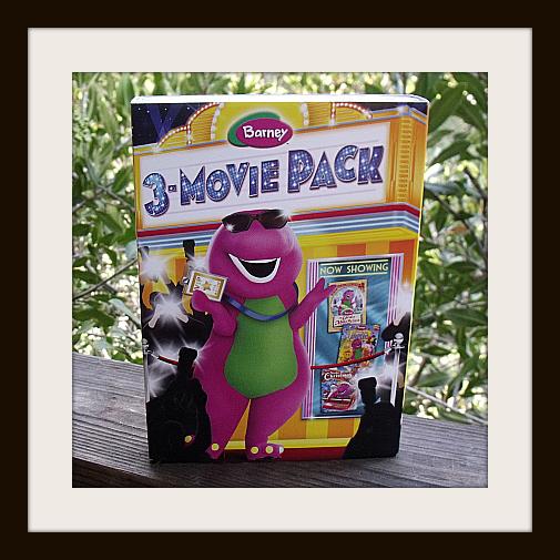 Barney 3-Movie DVD Pack