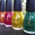 SinfulColors Crystal Crush Nail Polish Collection