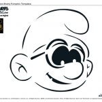 The Smurfs Pumpkin Carving Template – Brainy