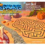 The Smurfs Legend of Smurfy Hollow Printable Maze