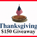 Thanksgiving $150 Cash Sweepstakes – Ends 11/28/13