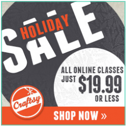 craftsy holiday sale