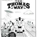 Thomas & Friends Printable Coloring Page