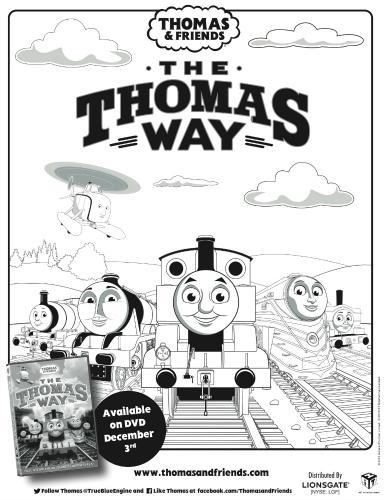 thomas & friends printable coloring page | mama likes this - Thomas Friends Coloring Pages