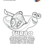 Turbo Printable Coloring Page