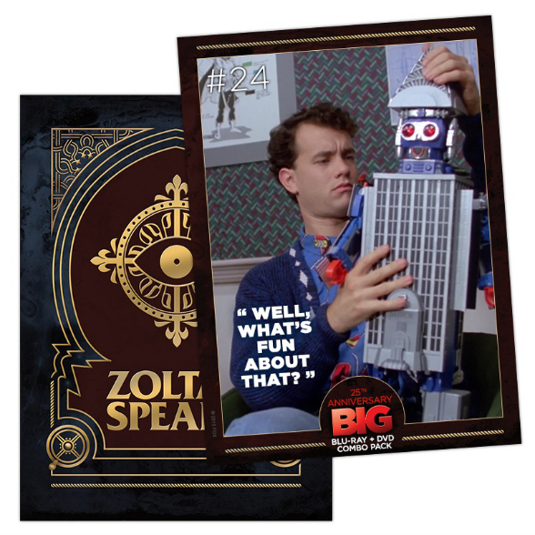 Click HERE to download the Big: 25th Anniversary Collectible Digital