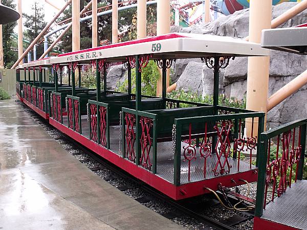 Camp Snoopy Train at Knott's Berry Farm