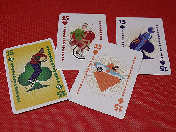 Clubs Card Game From North