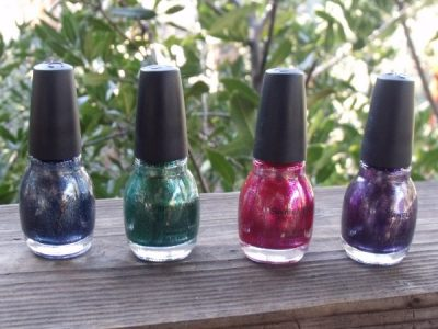 SinfulColors Mirror Metallics Nail Polish