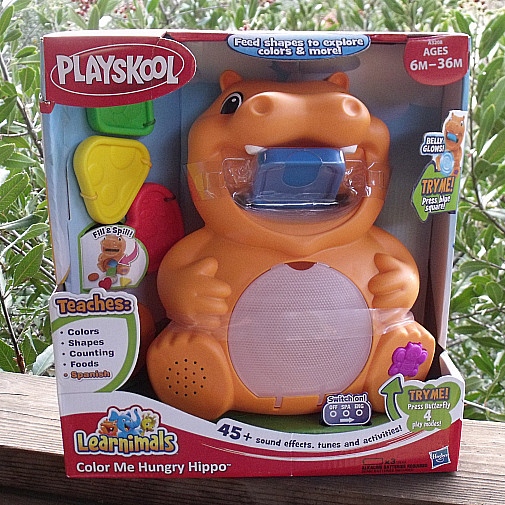 Playskool Toy Food : Playskool learnimals color me hungry hippo toy mama