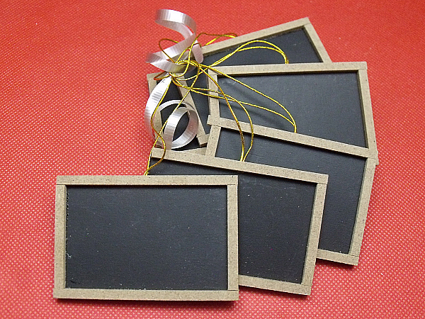 Chalk Board Tags