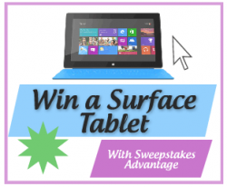 Microsoft Tablet Sweepstakes