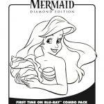 Ariel Little Mermaid Coloring Page