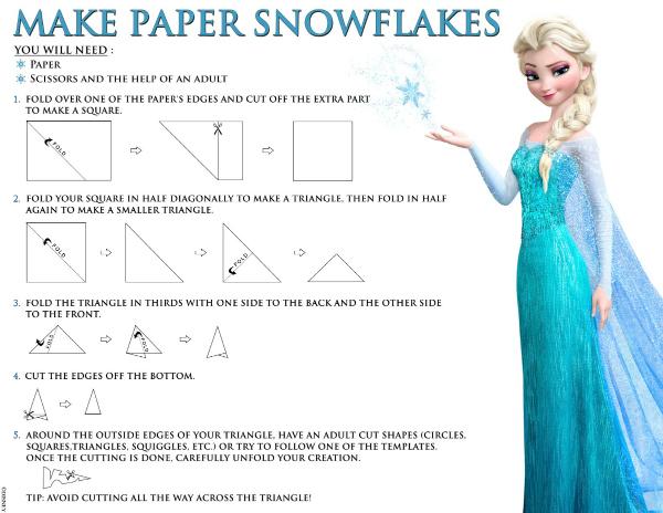 Disney Frozen Printable Snowflake Craft Mama Likes This