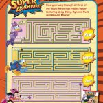Disney Mickey Mouse Clubhouse Printable Super Adventure Triple Maze