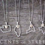 Fashion Friday – Custom State Necklaces – $11.95 with Free Shipping