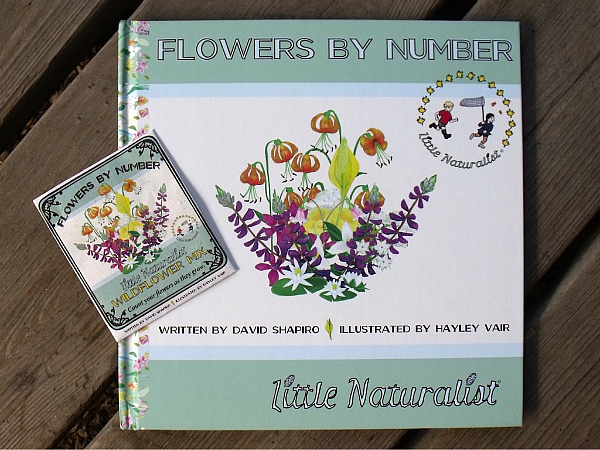 Flowers by Number - Little Naturalist Book