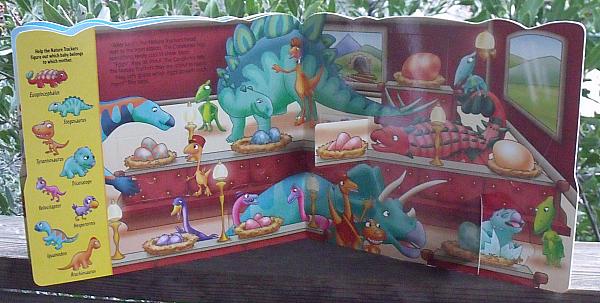 Dinosaur Train Buddy & The Nature Trackers Book