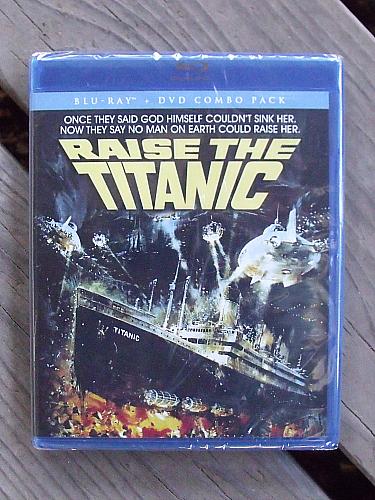 Raise the Titanic Blu-ray DVD Combo